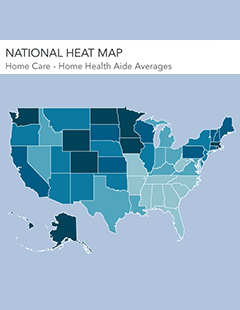 cost of care heat map