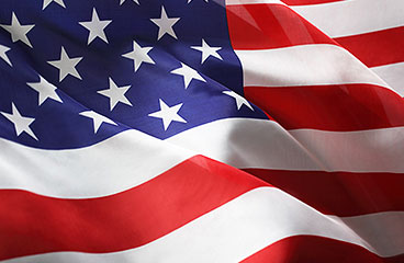 An image of the American flag.