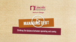 Managing debt: striking the balance between spending and saving