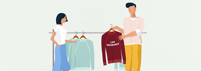Life Insurance Image for Video.