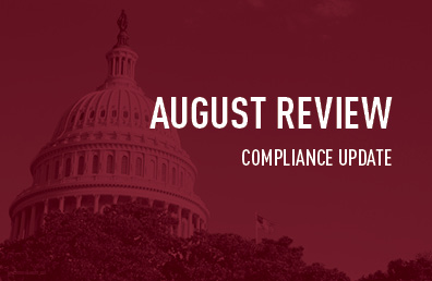 August review compliance update