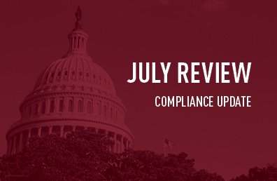 July review compliance update
