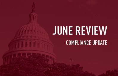 June review compliance update