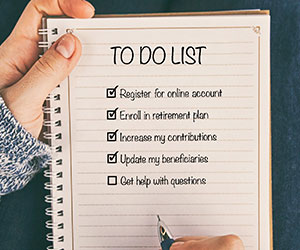 Fall into good habits to do list