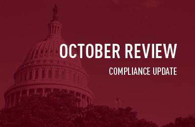 October review compliance update