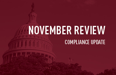 November review compliance update