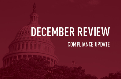 December review compliance update