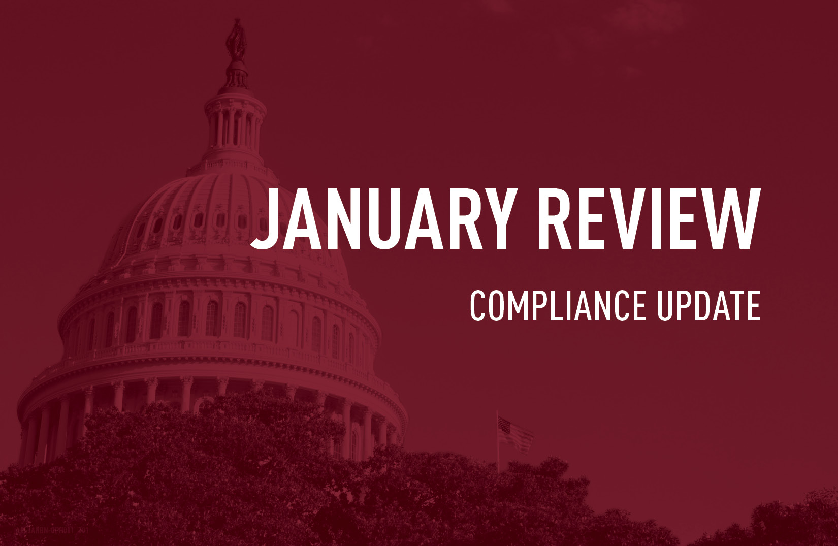 January review compliance update