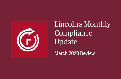 March review compliance update