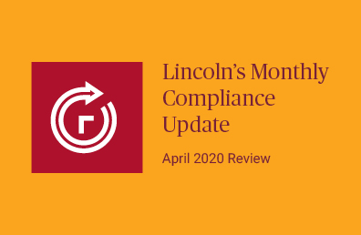 April review compliance update