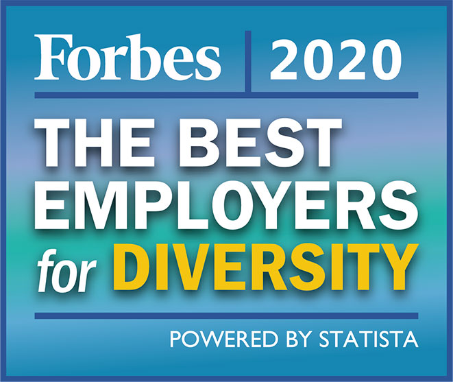 Forbes 2020 - The best employers for diversity
