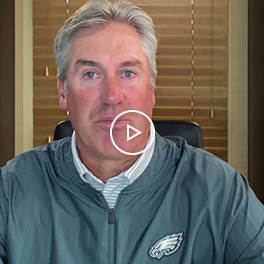 Doug Pederson, Coach of the Philadelphia Eagles Video
